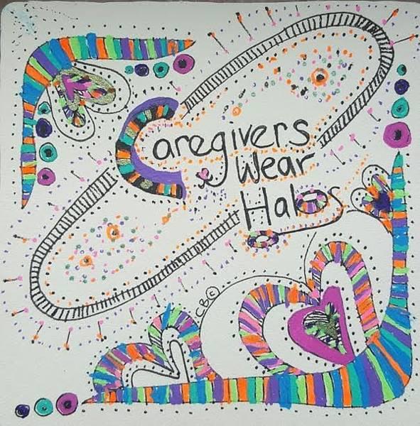 Drawing - Halos by Carole Breccht