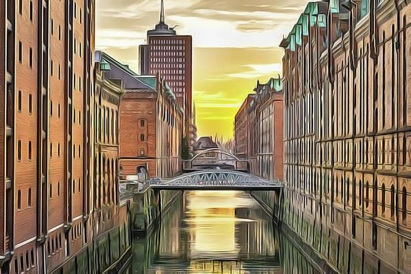Painting - Hamburg by Harry Warrick