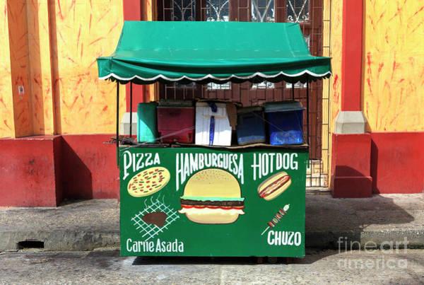 Photograph - Hamburguesa In Cartagena by John Rizzuto