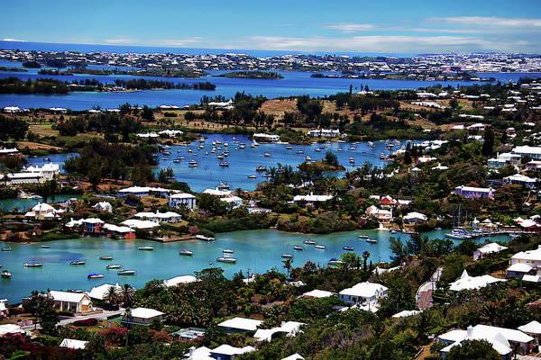 Photograph - Hamilton, Bermuda by Anthony Dezenzio
