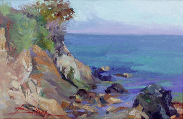 Painting - Hamilton Cove Catalina Island by Betty Jean Billups