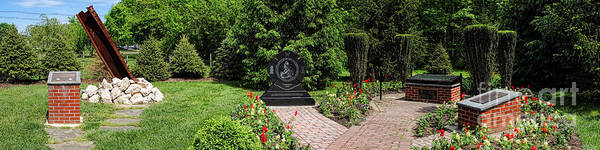 Photograph - Hamilton Township New Jersey Heroes Memorial by Olivier Le Queinec