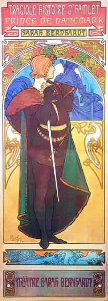 Painting - Hamlet by Alphonse Mucha