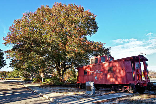 Photograph - Hamlet Caboose by Mike Covington