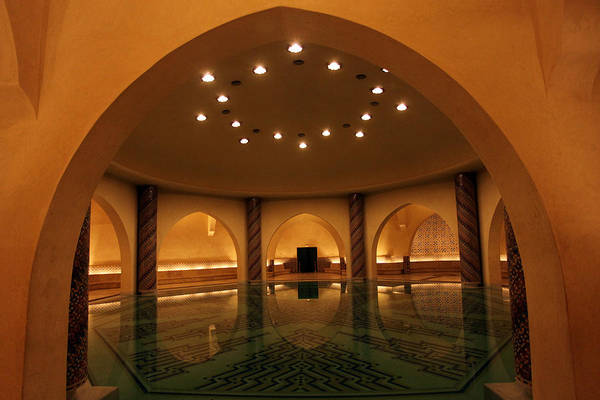 Photograph - Hammam In Hassan II Mosque by Aivar Mikko