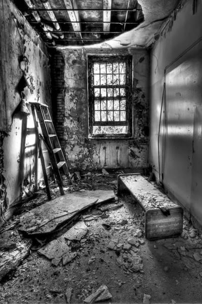 Ladder Wall Art - Photograph - Hammer To Fall by Evelina Kremsdorf
