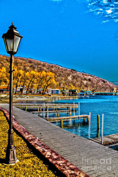 Photograph - Hammondsport Waterfront by William Norton