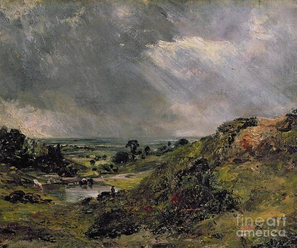 North London Wall Art - Painting - Hampstead Heath by John Constable