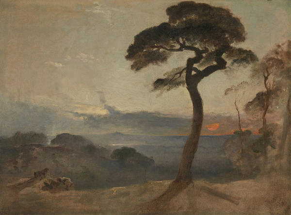 Painting - Hampstead Heath, Sunset by Francis Danby
