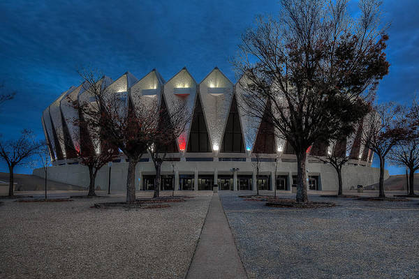 Photograph - Hampton Coliseum French Salute by Jerry Gammon