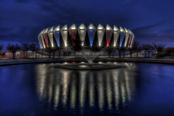 Photograph - Hampton Coliseum by Jerry Gammon