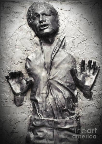 Star Wars Wall Art - Photograph - Han Solo In Carbonite by Waldek Dabrowski