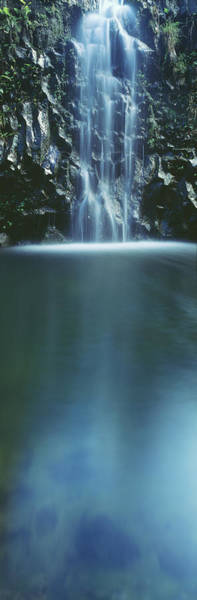 Wall Art - Photograph - Hana, Cascading Waterfall by Carl Shaneff - Printscapes