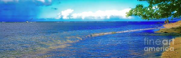 Photograph - Hanalei Bay Kauai Hawaii  by Tom Jelen