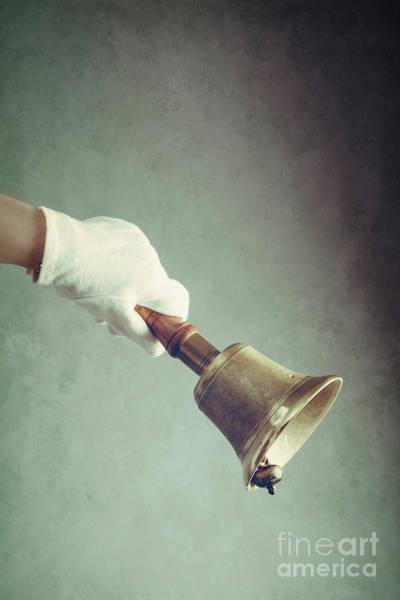 Wall Art - Photograph - Hand Bell by Amanda Elwell