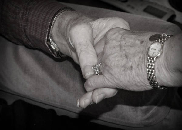 Photograph - Hand In Hand Since 1957 by Cricket Hackmann