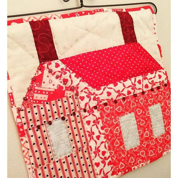 Photograph - Hand Quilted Valentine's Day Wall by Melissa Abbott