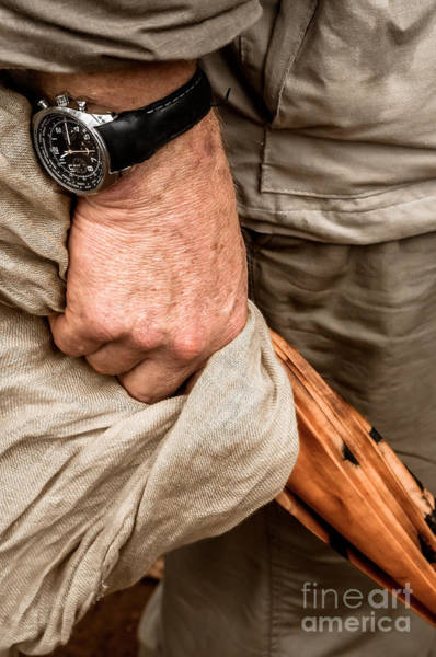 Tight Pants Photograph - Hand With Umbrella And Watch On Wrist. by Jacques Jacobsz