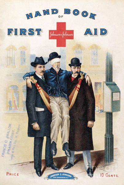 Photograph - Handbook: First Aid by Granger