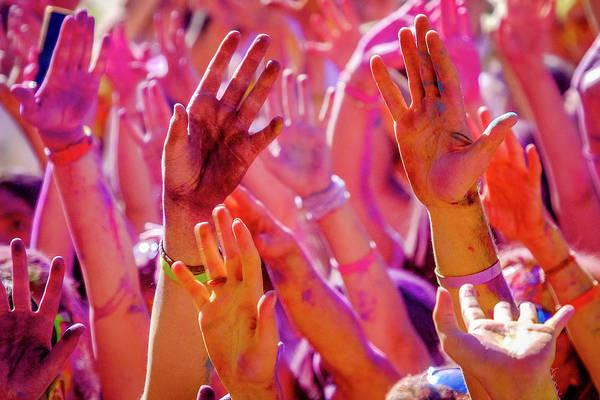 Photograph - Hands Up-2 by Okan YILMAZ