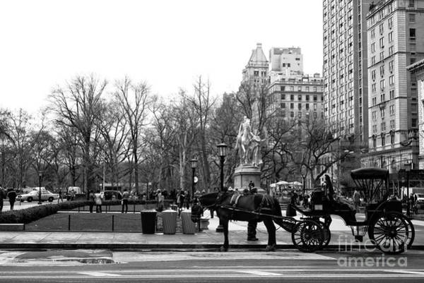 Wall Art - Photograph - Handsome Cab At The Grand Army Plaza by John Rizzuto