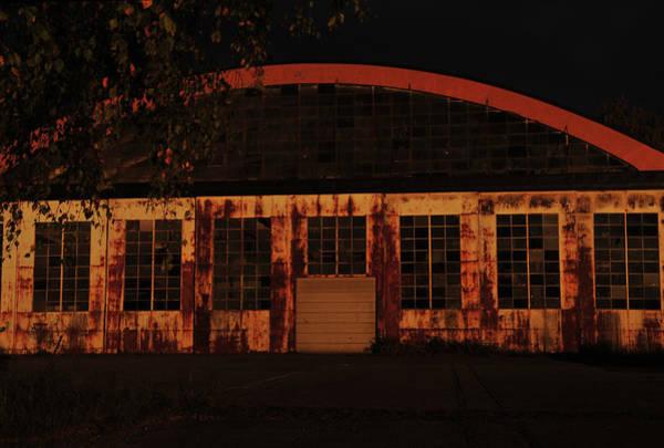 Photograph - Hangar At Sunset by Randi Grace Nilsberg