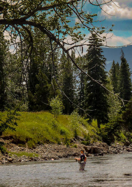 Photograph - Hangin' Out On The Stream by Philip Rispin