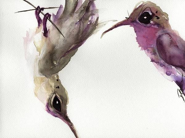 Painting - Hanging Around by Dawn Derman