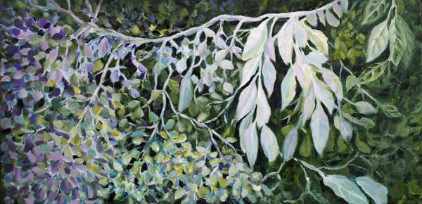Painting - Silver Spendor by Joanne Smoley