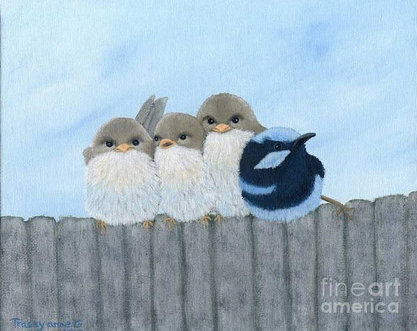 Painting - Hanging Around by Tracey Goodwin