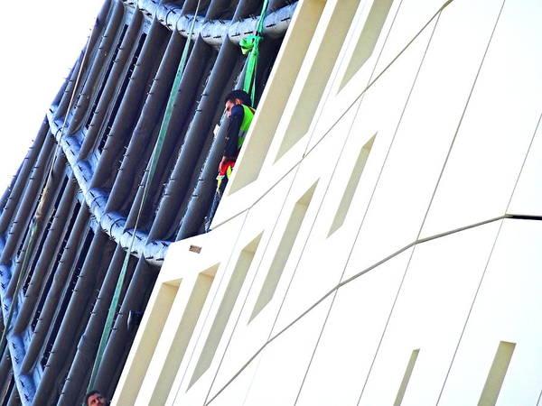 Arte Photograph - Hanging In Beirut Zaha Hadid by Funkpix Photo Hunter