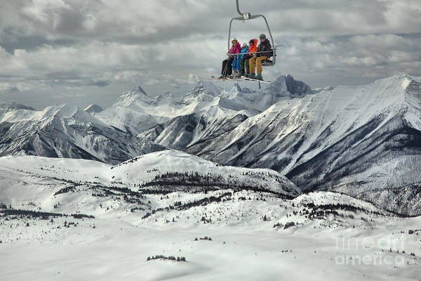 Photograph - Hanging In The Sky At Sunshine by Adam Jewell