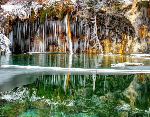 Photograph - Hanging Lake 2 by OLena Art - Lena Owens