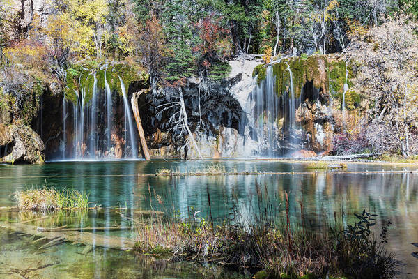 Photograph - Hanging Lake Colorado by Jemmy Archer