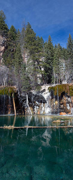Photograph - Hanging Lake Vertical Panorama by Nicholas Blackwell