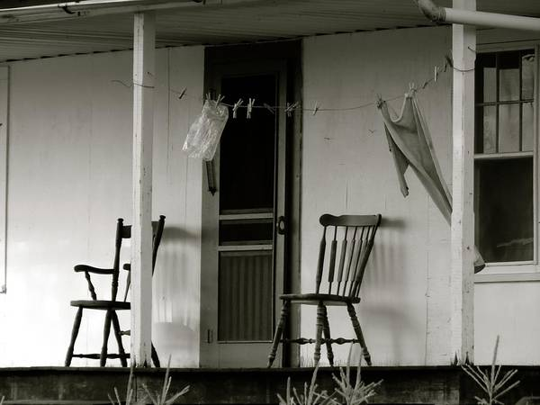 Photograph - Hanging Out On The Porch by Jenny Regan