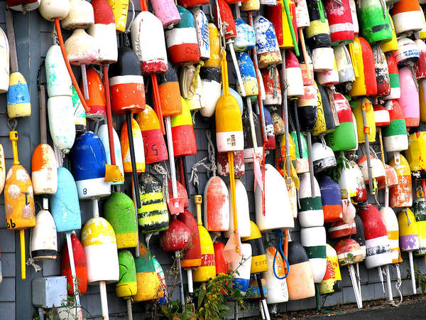 Carole King Photograph - Hanging Out With The Buoys by Carole King