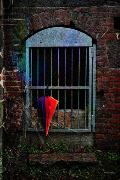 Photograph - Hanging Umbrella by Randi Grace Nilsberg