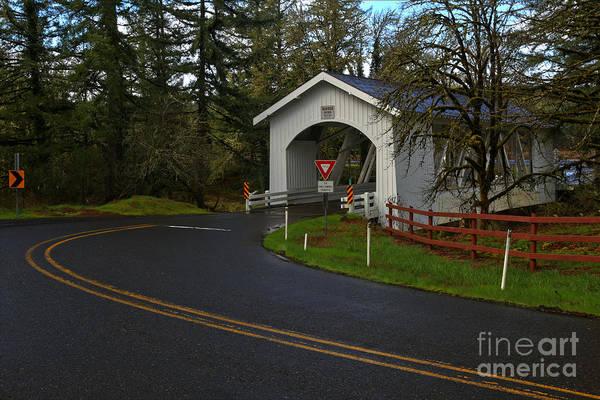 Photograph - Hannah Covered Bridge by Adam Jewell