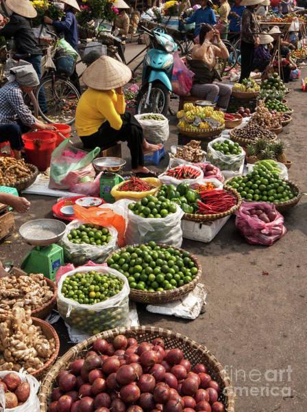Photograph - Hanoi Market 01  by Rick Piper Photography