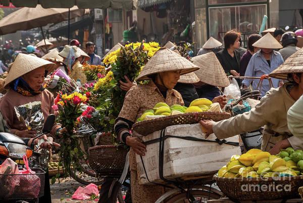 Hanoi Market 02  Art Print