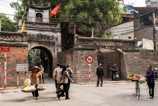 Photograph - Hanoi Old East Gate 01  by Rick Piper Photography