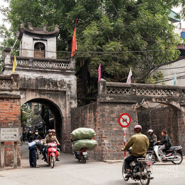 Photograph - Hanoi Old East Gate 02  by Rick Piper Photography