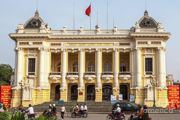 Photograph - Hanoi Opera House 01 by Rick Piper Photography