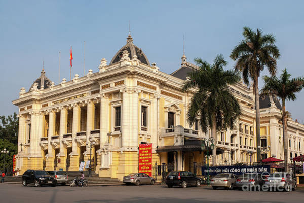 Photograph - Hanoi Opera House 02 by Rick Piper Photography