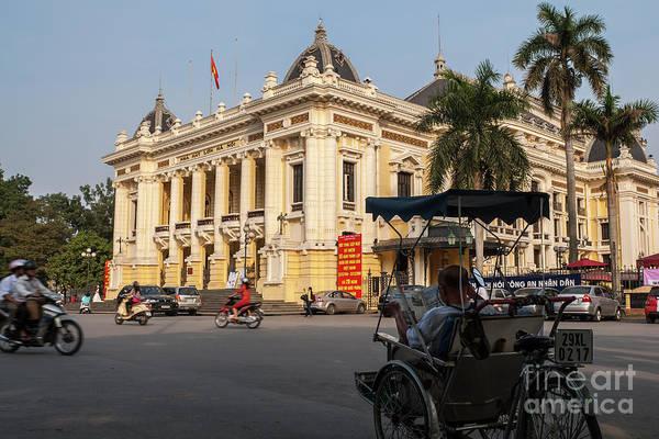 Photograph - Hanoi Opera House 03 by Rick Piper Photography