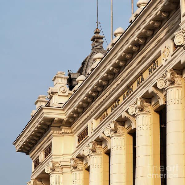 Photograph - Hanoi Opera House 06  by Rick Piper Photography