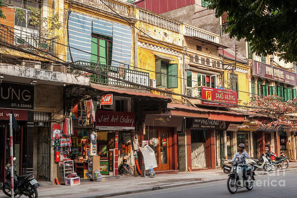 Photograph - Hanoi Shophouses 08  by Rick Piper Photography