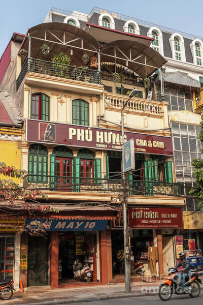 Photograph - Hanoi Shophouses 09  by Rick Piper Photography