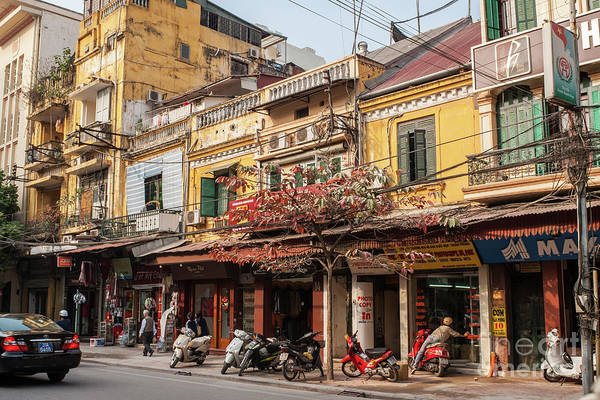 Photograph - Hanoi Shophouses 11  by Rick Piper Photography